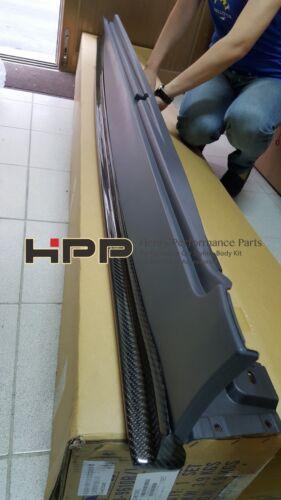 For BMW F10 M5 Carbon Fiber Side Skirt Extension Spoiler Splitte 3D style