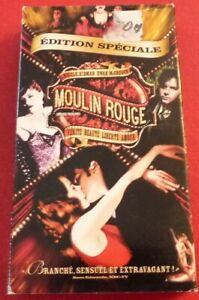 VHS-French-Movie-Moulin-Rouge-Version-Francaise