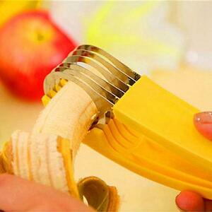 Banana Slicer Chopper Cucumber Cutter Vegetable Peeler Fruit Salad Kitchen Tool