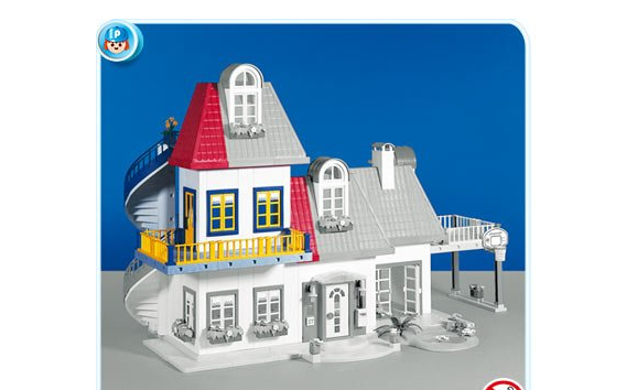 Playmobil 7336 Modern House ADDITION 1 - Discontinued 2008 New in Orig Box