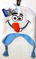 f4404742c00 Disney Frozen Olaf Snowman Embroidered Critter Knit Hat Beanie Laplander 3D  Nose