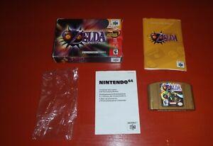 Legend-of-Zelda-Majora-039-s-Mask-Collector-039-s-Edition-Nintendo-64-N64-Complete