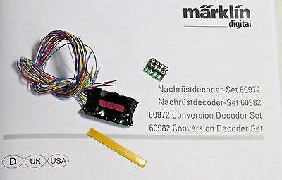 Märklin 60982 mLD3 Locomotive Decoder with wiring harness mFX & DCC on