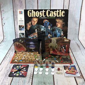 GHOST-CASTLE-Vintage-MB-Board-Game-100-complete-1980s-1985