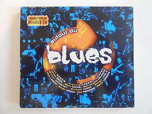 AUTOUR-DU-BLUES-CONCERT-UNIQUE-DOUBLE-CD-GOLDMAN-CABREL