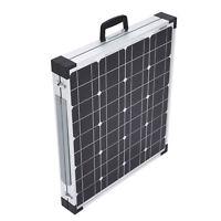 80w 12v Folding Solar Panel Charging Kit For Camper Caravan Boat Yacht Rv 2x40w