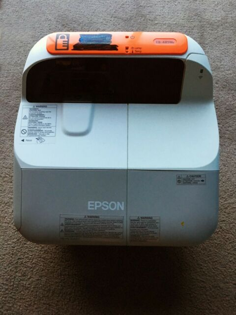 EPSON EB-485We Ultra Short Throw Projectors Ultra Bright Ultra flexible Speakers