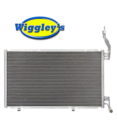 A//C Condenser For 14-18 Ford Fiesta 1.0L 1.6L Fast Free Shipping Direct Fit