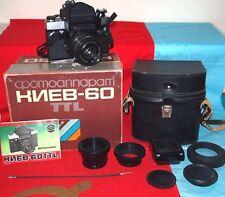 Sovet camera KIEV 60 TTL. .Lens MC VOLNA - 3  (2.8/80), USSR.