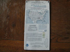 VINTAGE Memphis WORLD AERONAUTICAL CHART PILOT MAP NOAA 1:500,000 SCALE