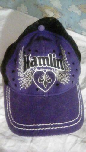 Joe Gibb Racing Hamlin mesh snap back hat one size