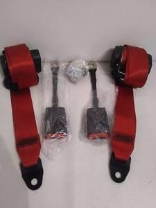 842f8af07ced 2 x ceinture de sécurité red pour Porsche 911 964 993 996 997   eBay