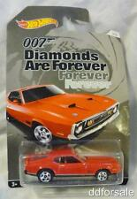 1971 Ford Mustang Mach I  1/64 Scale Die-cast Model From Hot Wheels 007 Series