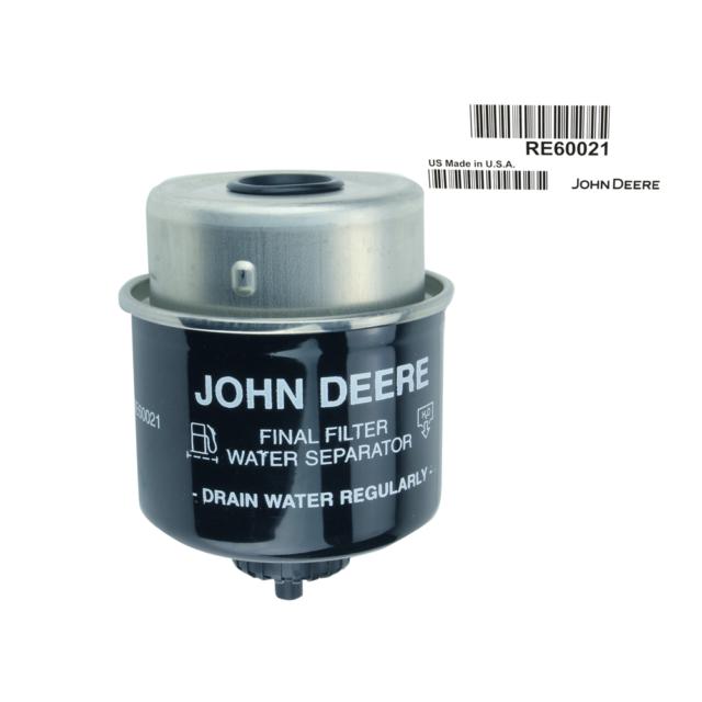 John Deere RE60021 sel Fuel Filter Water Separator | eBay
