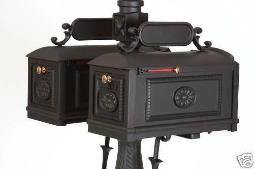 Better Box - DOUBLE- Cast Aluminum Mail Box BBD Mailbox