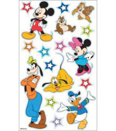 DISNEY MICKEY /& FRIENDS EK Success Dimensional Stickers 51-50009 minnie goofy
