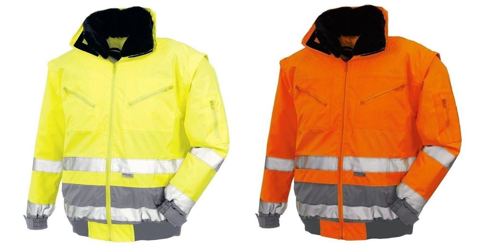 Texxor Warnschutz-pilotenjacke Vancouver 4107 Orange Gr Sonstige L Neu