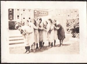 VINTAGE-1920-22-MILLER-PLACE-NEW-YORK-B-S-H-S-BAY-SHORE-HIGH-SCHOOL-OLD-PHOTO