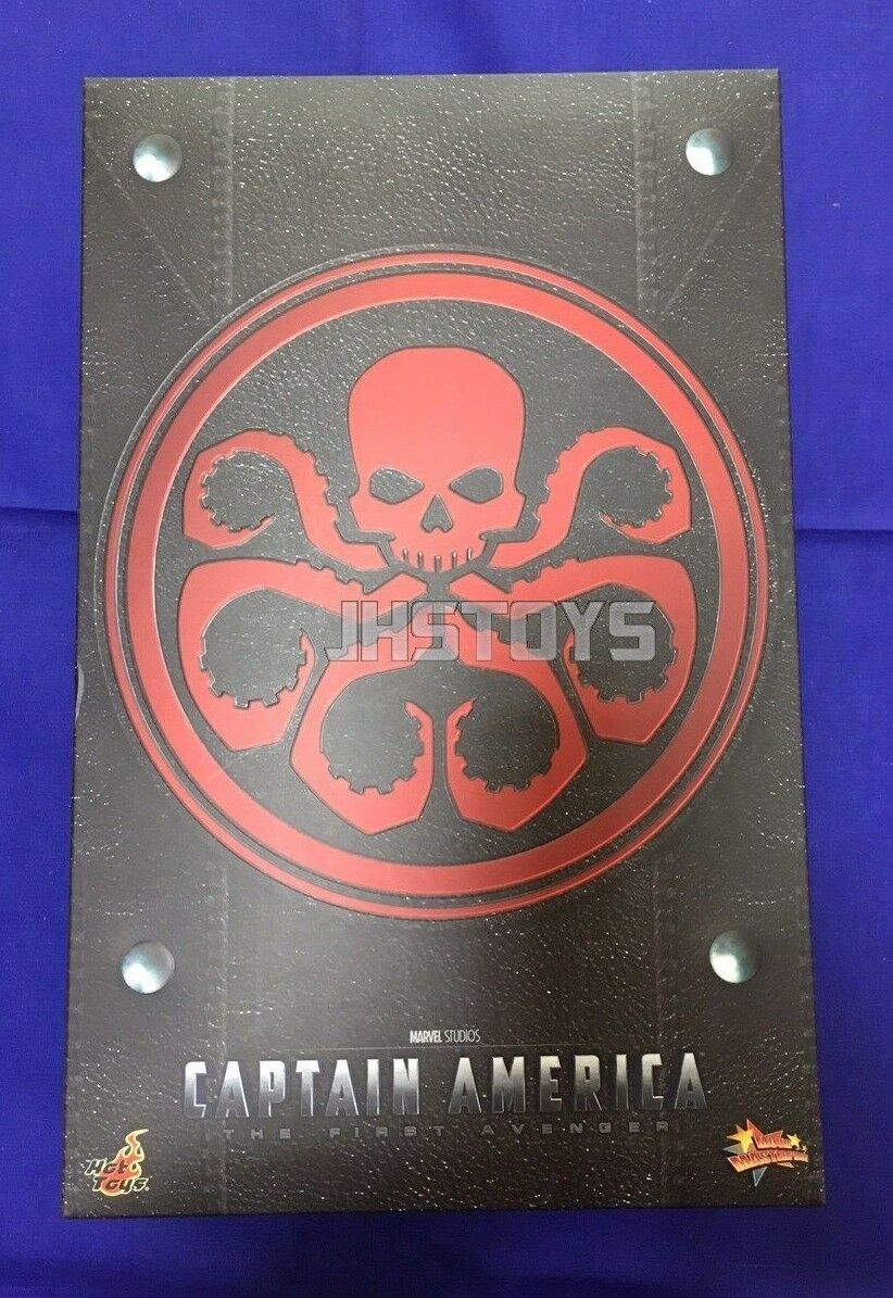 Hot Toys 1/6 Captain America The First Avengers rosso Skull MMS167