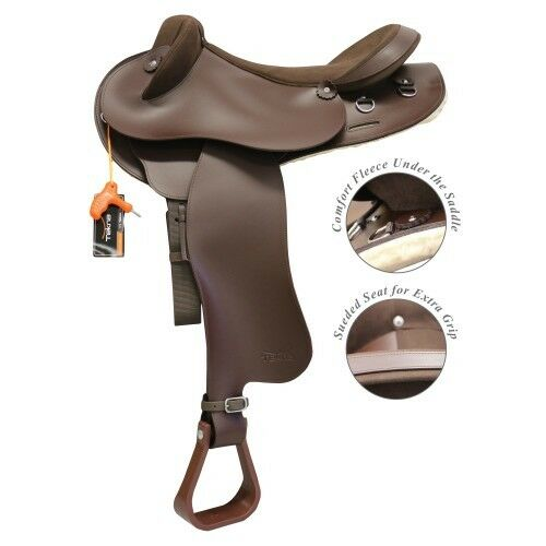 Swinging Fender Saddle with Adjustable Gullet Synthetic Halfbreed - 18