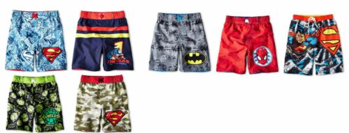 BOYS CHARACTERS SWIM BOARD SHORTS MULTIPLE PATTERNS//SIZES MSRP$18 NEW WITH TAGS