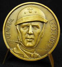 Médaille Général Leclerc Paquebot 1951 Cie Chargeurs réunis C Faisse Medal