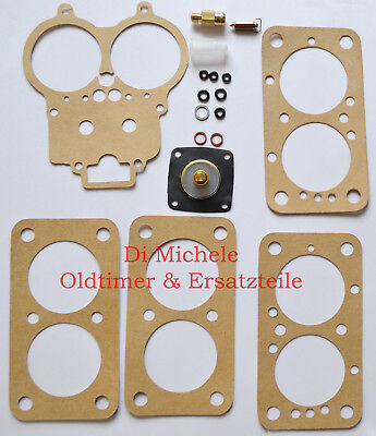 4x42 DCNF Profi-Reparatur-Kit für Weber Vergaser Carburetor Repair Kit