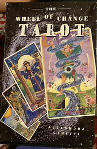 THE-WHEEL-OF-CHANGE-TAROT-79-Cards-With-Book-In-Box-Alexandra-Genetti-1997-Oop