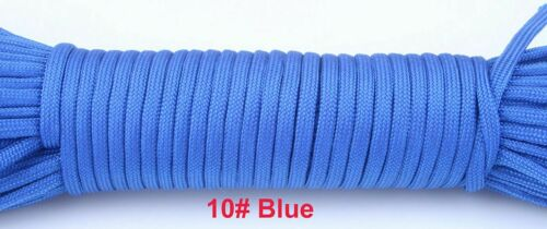 Paracord 550 Rope Type III 7 Stand 100FT 50FT Paracord Cord Rope Survival Kit