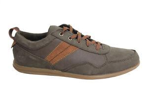 Oxford Zapatos Timberland Hombre Cordones Pemberton Cuero Marrón ROzwY4zx