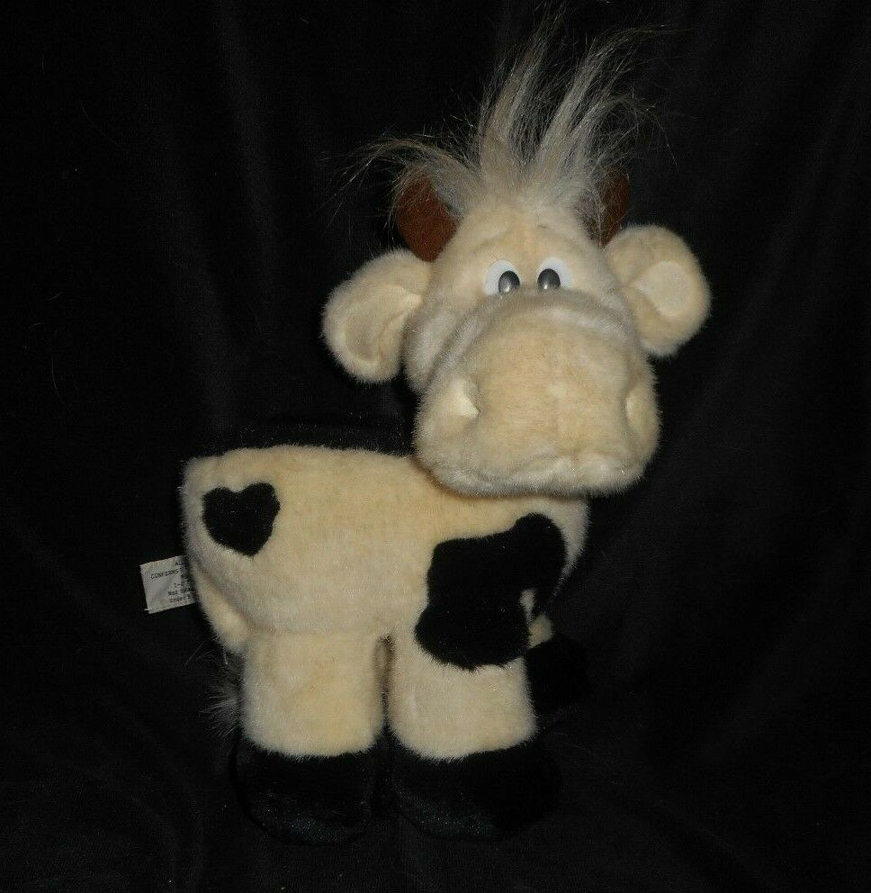 VINTAGE RUSS BERRIE LIL LUVABLES KATHLEEN KELLY CRITTER COW STUFFED ANIMAL PLUSH