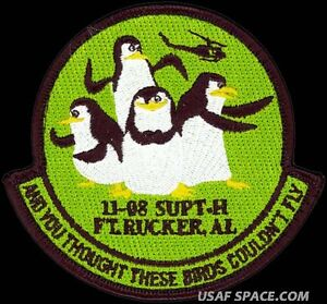 USAF SPECIALIZED PILOT TRAINING - AND YOU THOUGHT THESE BIRDS COULDN'T FLY PATCH