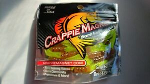 NEW    CRAPPIE MAGNET 50 pc PK