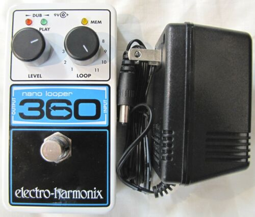 Used Electro-Harmonix EHX Nano Looper 360 Guitar Pedal