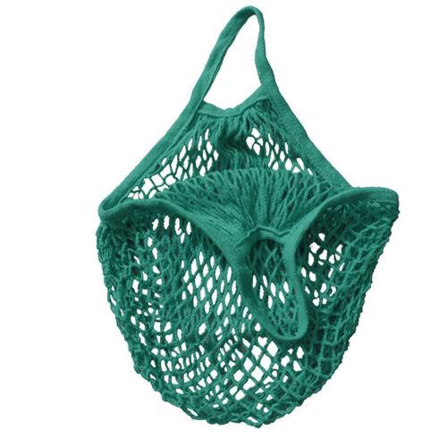 Maschennetz Schildkröte Tasche Seiten Einkaufstasche wiederverwendbar Frucht Neu