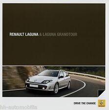 Prospekt Renault Laguna + Grandtour 6 10 Autoprospekt 2010 Auto PKWs brochure