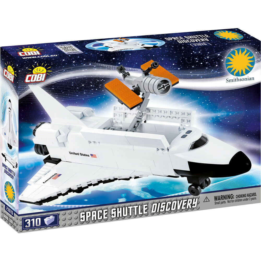 Cobi Toys Smithsonian Space Shuttle Discovery Building Set 21076