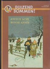 DUIZEND BOMMEN n°18. 12/2004. Revue sur TINTIN. Neuf