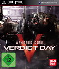 Armored Core: Verdict Day (Sony PlayStation 3, 2013, DVD-Box)