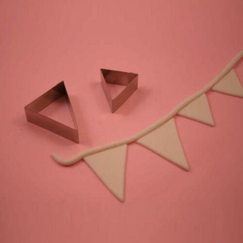 Bien Collection Sugarcraft Cutters Bunting Flag Line Cake Decorating