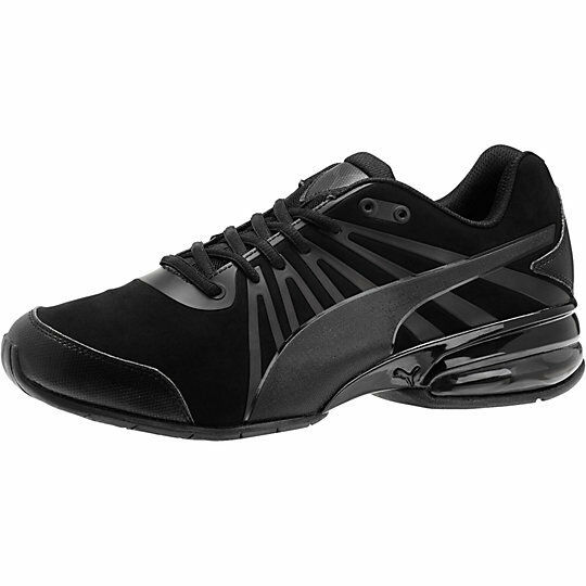 NEW   PUMA CELL KILTER NUBUCK Homme TRAINING Chaussures Noir Sneakers 188955 01