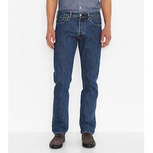 Details zu Levi´s ® 501 ® Jeans Denim Herren STONEWASHED Weite 29 30 31 32 33 34 36 38