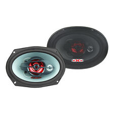 """NEW xXx 6""""x9"""" 3-Way IMPP Cone Triaxial Car Speaker 350W (XFG-6903) SOLD by PAIRS"""