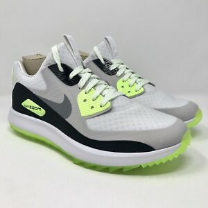 Details about Nike Air Zoom 90 IT White Cool Grey Volt Women's Size 9 Golf Shoes 844648 101