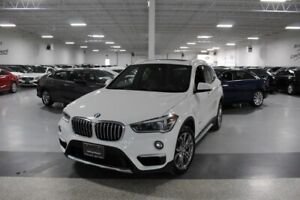 2017 BMW X1 XDRIVE28i I LEATHER I PANOROOF I REAR CAM I HEATED