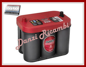 BATTERIA-OPTIMA-2019-AGM-50-AH-1000A-RTC-4-2-RED-ROSSA-JEEP-DODGE-SUPER-POTENZA