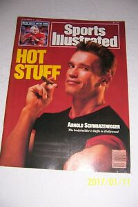 1987-Sports-Illustrated-ARNOLD-SCHWARZENEGGER-No-Label-HOT-STUFF-The-GOVERNOR-NL