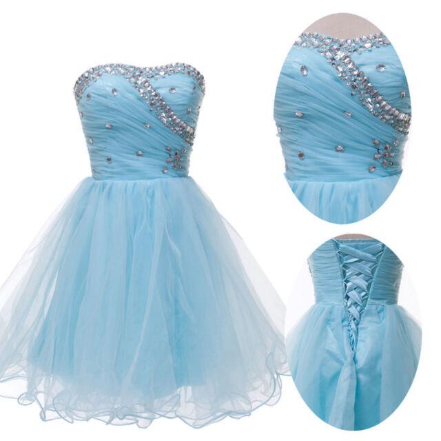 Glittering Cocktail Bridesmaid Formal Evening Prom Short Knee-Length Slim Dress