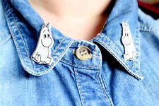 Moomintoll Collar Clips Accessories Moomins Moomin badge Pin kitsch cult cute