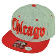 522c9a0fe16 Original Chuck Low Key Snapback Flat Bill Style Cap Hat Gray Striped ...